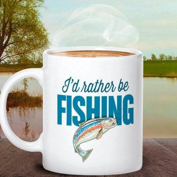 Fishing mug gift or present