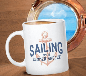 Sailing Club Gift Mug