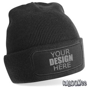 merchandise for clubs Custom printed club beanie hat